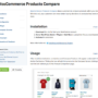 WooCommerce Products Compare Docs