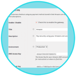 WooCommerce Amazon -FPS -Payment Gateway