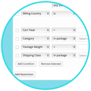WooCommerce Conditional Shipping and -Payments