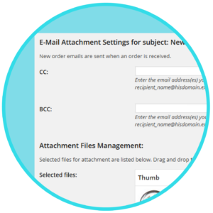 WooCommerce Email Attachments Extension