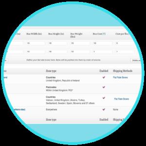 WooCommerce Flat Rate Box Shipping Plugin