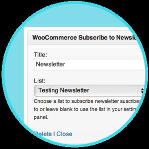 WooCommerce Newsletter Subscription Plugin