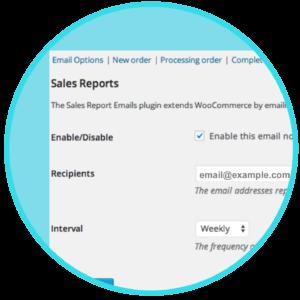 WooCommerce Sales Report Email Plugin