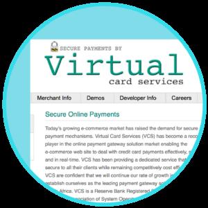 WooCommerce Virtual Card Services VCS Virtual Terminal