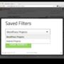 WordPress Freelancer Theme Hirebee Saved Filters