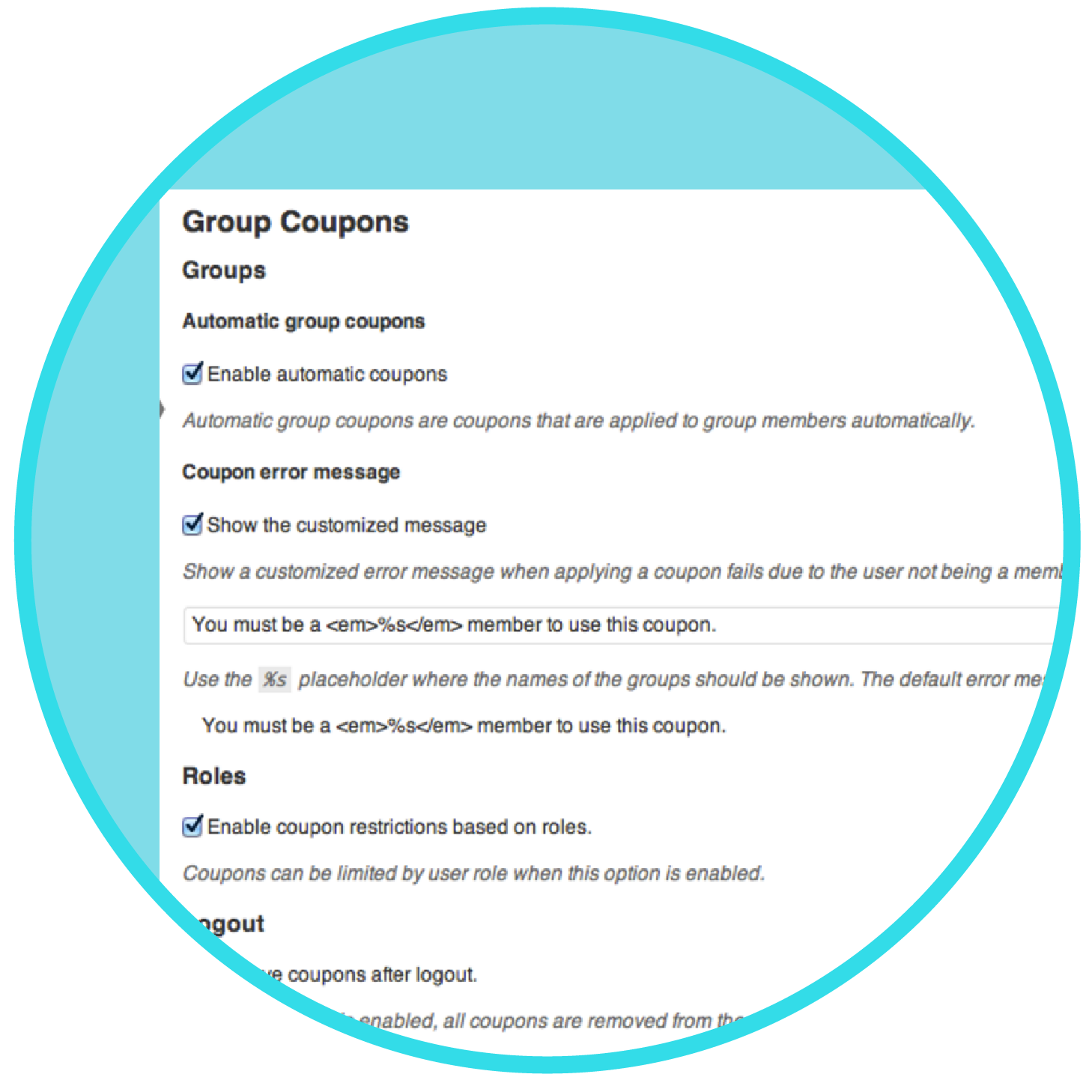 Woocommerce coupon code 2018