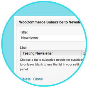 WooCommerce Newsletter Subscription Plugin