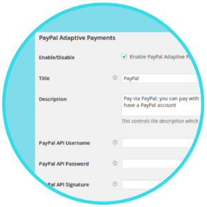 WooCommerce PayPal Adaptive Payments Plugin