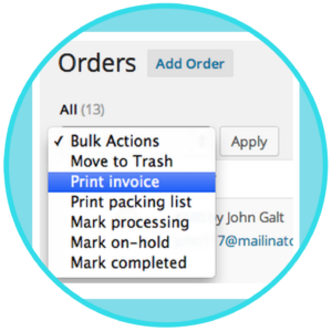WooCommerce Print Invoices & Packing List Plugin