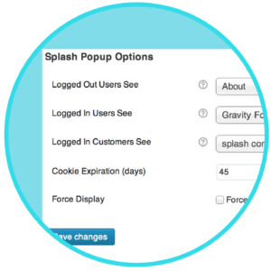 WooCommerce Popup Splash Plugin