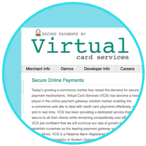 WooCommerce Virtual Card Services VCS Virtual Terminal
